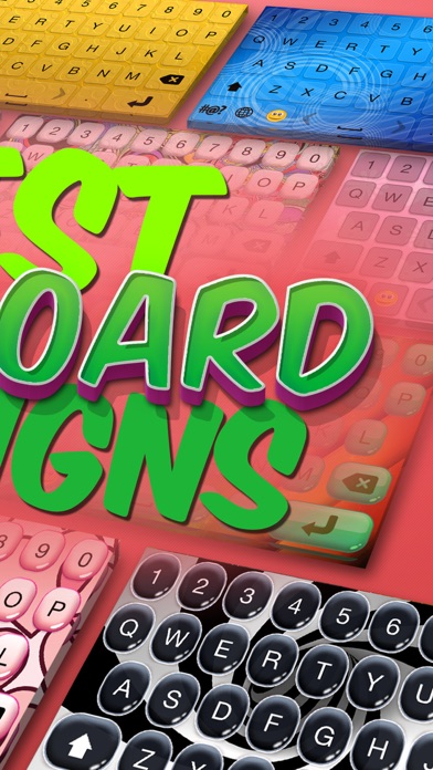 Best Keyboard Designs – Custom Keyboards and Fonts App