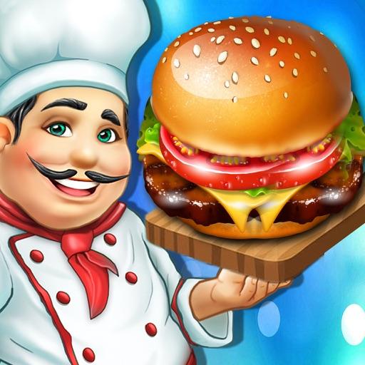 オリンピック料理カフェテリアワールドマスターバーガーシェフフードコートハンバーガーフィーバーゲーム