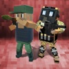 Blocky Army: War Battles Full - Defend city from terrorists!