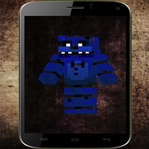 Amazing Free skins for Minecraft PE - For Five nights at freddy's theme iOS App