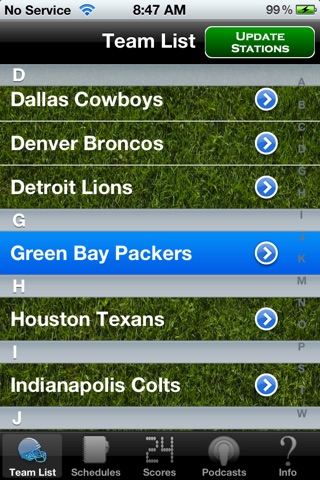 Pro Football Radio & Live Scores + Highlights screenshot 2