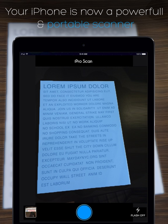 iScan Pro: Scanner For Documents Receipts in PDF's Screenshot