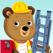 Bizzy Bear Builds a House
