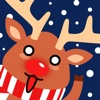 Moji Reindeer Animated Christmas Sticker Pack