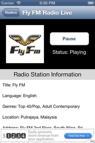 Malaysia Radio Live screenshot 4