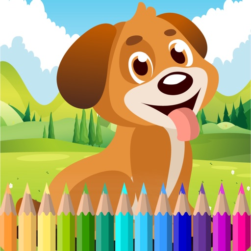 Color ME Free Fun Coloring Book Colors For Girls IOS App