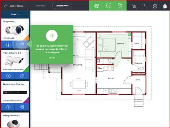 Scw surveillance floor plan designer on the app store Floor plan maker app