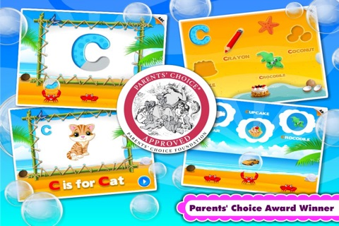Kids ABC Games: Toddler Girls & Boys Learning Free screenshot 1