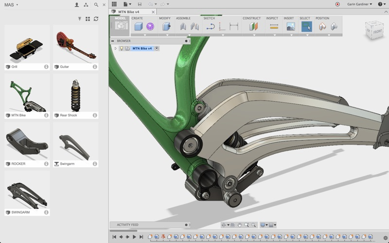 Fusion 360 for Mac