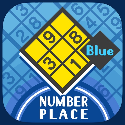 Anytime Sudoku Blue -NumberPlace- iOS App