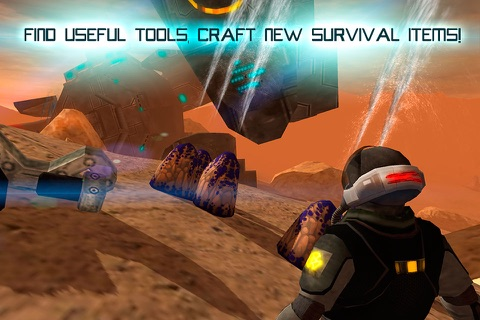 Mars Survival 3D: Cosmic Crash screenshot 3