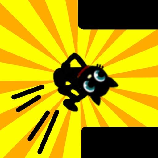 Crazy Jump Cat! iOS App