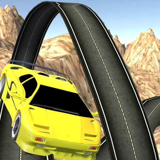 Stunt In Racing Car iOS App