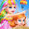 Rainbow Princess Makeover - Magic Kingdom Salon