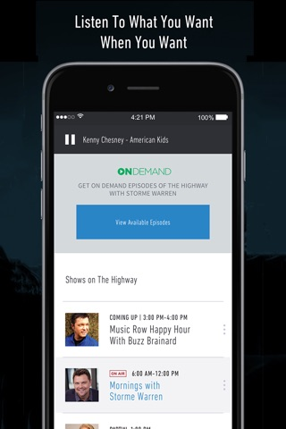 SiriusXM Radio screenshot 3
