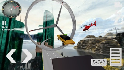 Imposible Car Stunts Mega RampСкриншоты 3