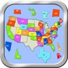 A Puzzle Map Of USA