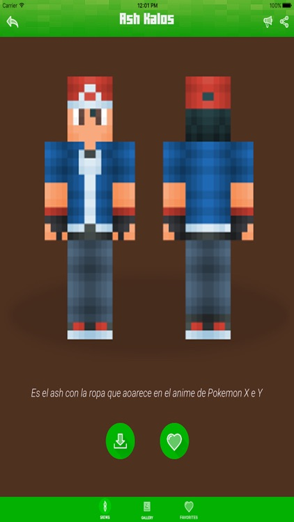 Pokemon Edition Skins For Minecraft PE Pocket Edition Best - Skin para minecraft pe edition