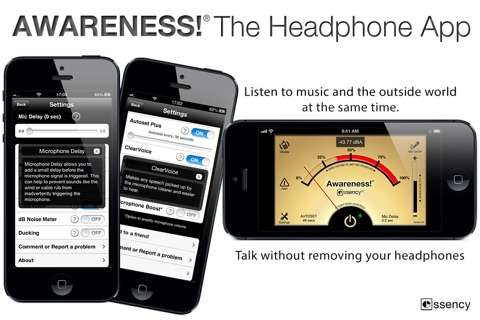 Awareness! The Headphone App screenshot 1