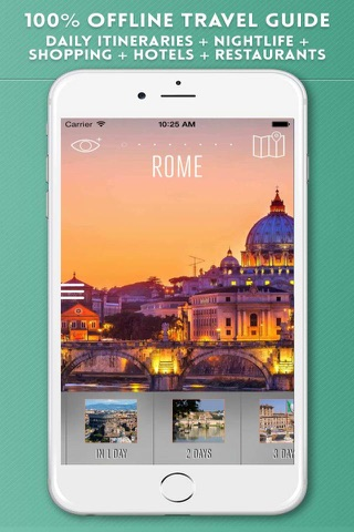 Rome Travel Guide and Offline City Map screenshot 1