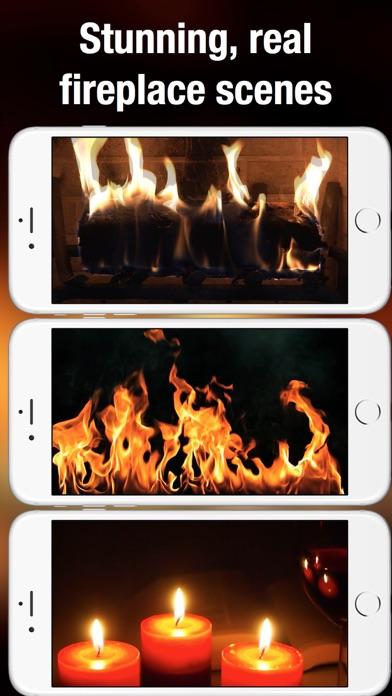 Fireplace Live HD: Relaxing backgrounds Pro Screenshots
