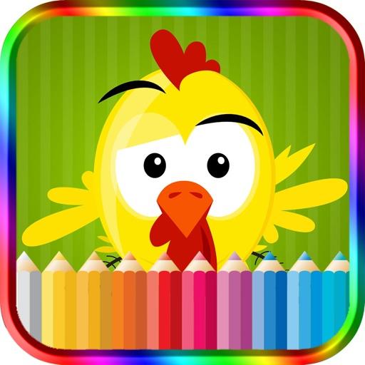 Kids Coloring Book Farm Animals iOS App