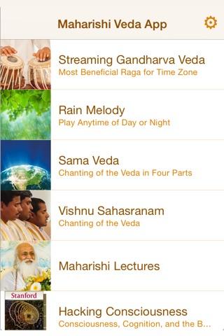 Maharishi Veda screenshot 2