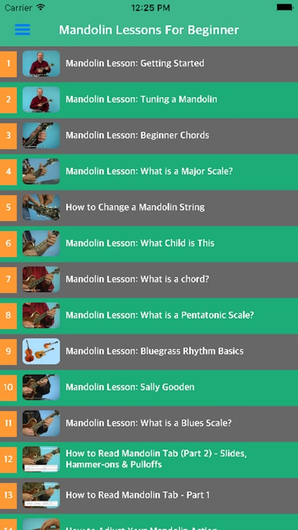 Mandolin Tuner - Learn How To Play Mandolin With Videos by Thi Buoi