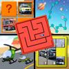 Kids Cars and Trucks Logic Memory Puzzles