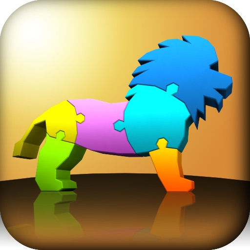 3D动物拼图:My First 3D Puzzle-Animals