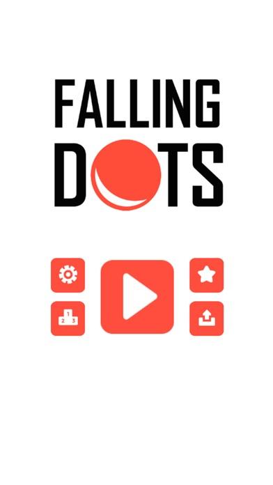 Falling Dots Game Screenshot