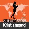 克里斯蒂安桑 離線地圖和旅行指南