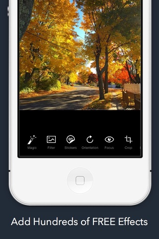Camatic - FREE Photo & Video Editor screenshot 2