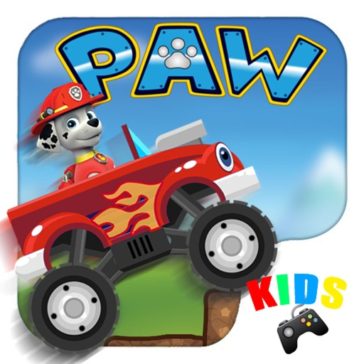 Puppy Team Truck Monster Machines Racing iOS App