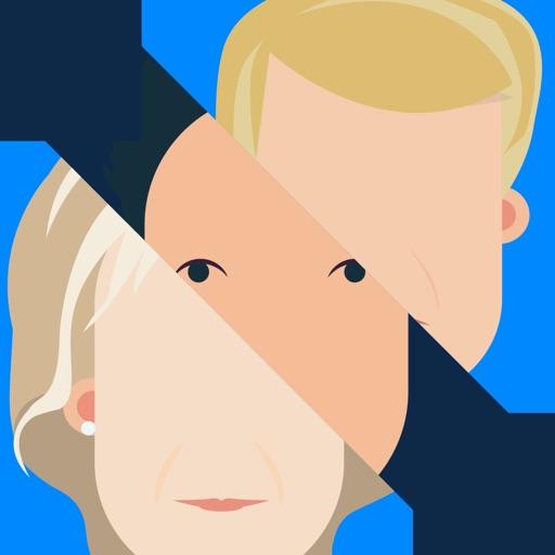POTUS+ - Turn yourself into Trump or Hillary iOS App