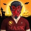 萬聖節怪物面具照片貼紙製造商免費