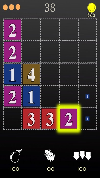 Number 7 - innovative and fast puzzle game Screenshot