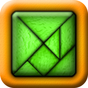 TanZen Free - Relaxing tangram puzzles icon