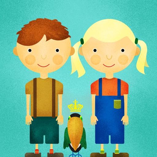 Alma & Anker explore the Little Village Farm iOS App