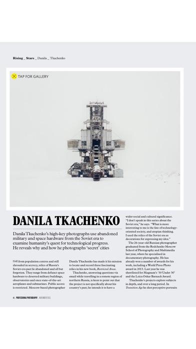 Professional Photography Magazine review screenshots