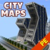 Best City Maps for Minecraft Pocket Edition - Pro Edition for MCPE pocket edition