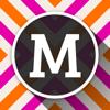 MonograMMing - Fondos de pantalla personalizados con monograma adhesivos y los patrones del galón del brillo