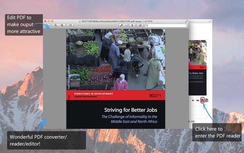 Aiseesoft PDF Converter-PDF to TEXT/EPUB and more Screenshots