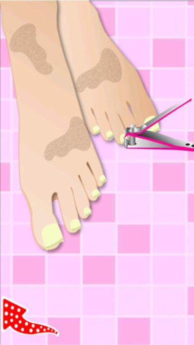 プリンセスつま先ドレスアップ - 女の子の子供ホットファッション無料化粧ゲーム - おとぎ話の彼女のシンデレラや白雪姫を作りますのスクリーンショット5