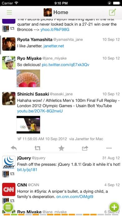 Janetter Pro for Twitter screenshot1