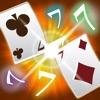 便攜式排七(接龍)(免費比賽撲克遊戲)