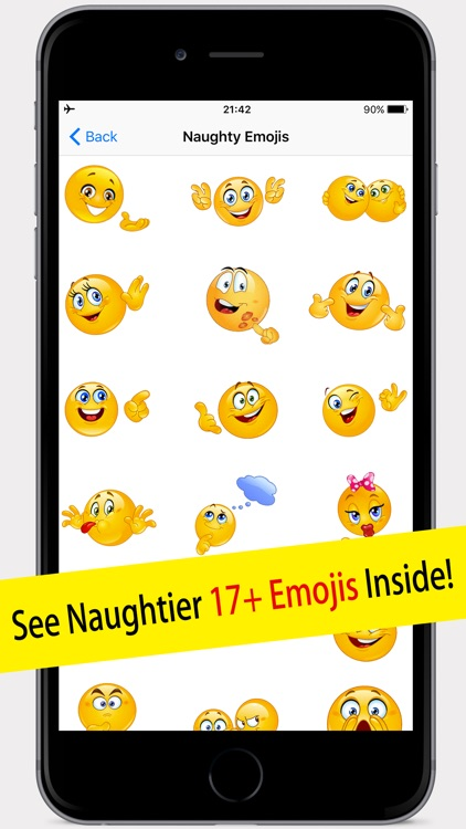 Naughty text message emoticons