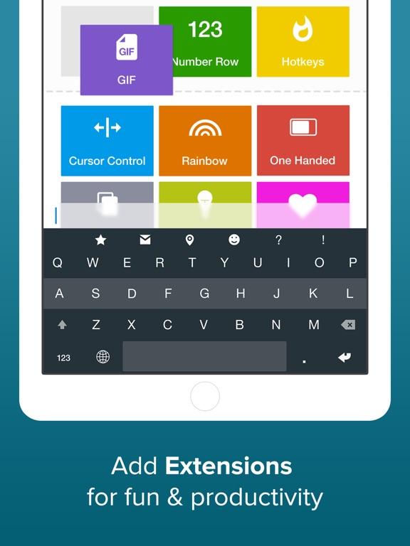 Fleksy- GIF, Web & Yelp Search Screenshots