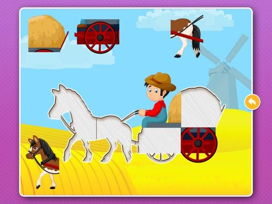 Игра Пазлы машинки! Развивающие игры для детей, малышей