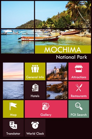 Mochima National Park screenshot 2